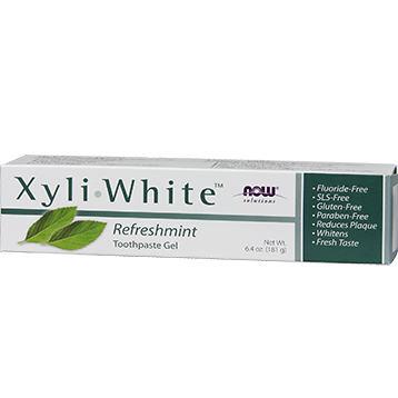 NOW Xyliwhite Toothpaste Refreshmint 6.4 fl oz N8090