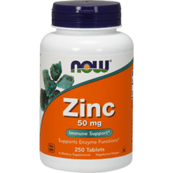 NOW Zinc 50 mg 250 tabs N1522