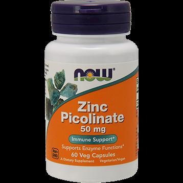 NOW Zinc Picolinate 50 mg 60 caps N15501