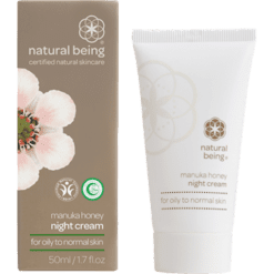 Natural Being Honey Night Cream Oily to Normal 1.7 oz NB3237