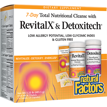 Natural Factors 7 Day Total Nutritional Cleanse 1 kit 7DAY