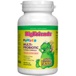 Natural Factors Big Friends Multi Probiotic Powder 2 oz NF8515
