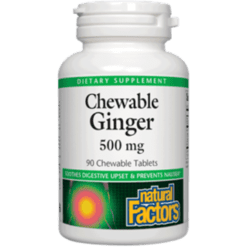 Natural Factors Chewable Ginger 90 tabs NF5061