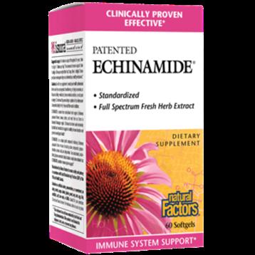 Natural Factors Echinamide 60 softgels NF5238
