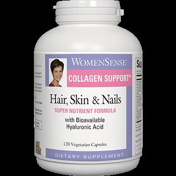 Natural Factors Hair Skin amp Nails Formula 120 vegetarian capsules HAIR6