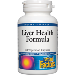 Natural Factors Liver Health Formula 60 caps LHF60