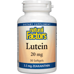 Natural Factors Lutein 20 mg 30 softgels NF0311
