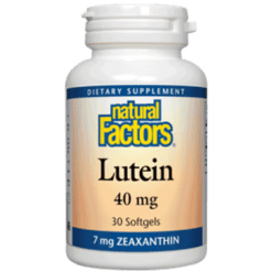Natural Factors Lutein 40 mg 30 softgels NF0342