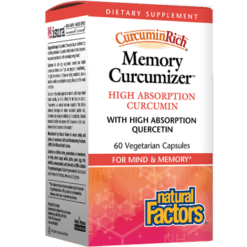 Natural Factors Memory Curcumizer 60 vegcaps NF5535