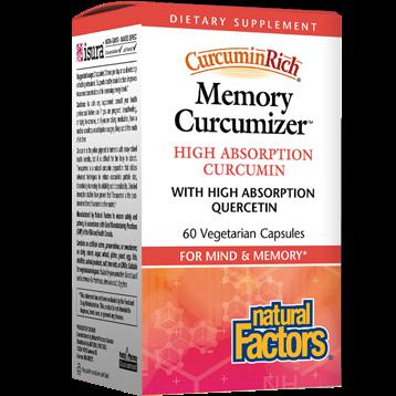 Natural Factors Memory Curcumizer 60 vegcaps NF5535