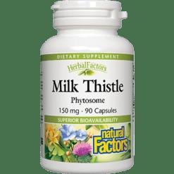 Natural Factors Milk Thistle Phytosome 90 capsules MIL39