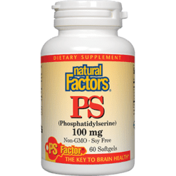Natural Factors PS Phosphatidylserine 100 mg 60 gels PHO63