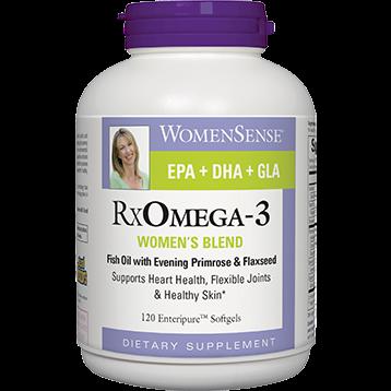 Natural Factors RXOmega 3 Womens Blend 120 softgels RXOM1