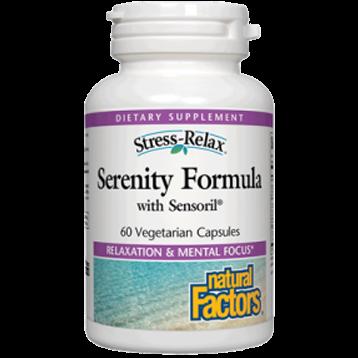 Natural Factors Stress Relax Serenity Formula 60 vegcaps NF8347
