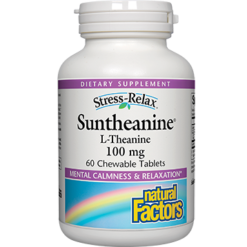 Natural Factors Suntheanine® L Theanine 60 tabs SUNTH