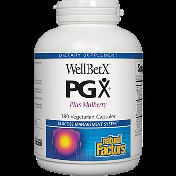 Natural Factors WellBetX PGX 180 vegcaps WELL1