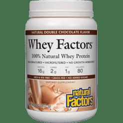 Natural Factors Whey Factors Powder Mix Choc 32 oz NF2934