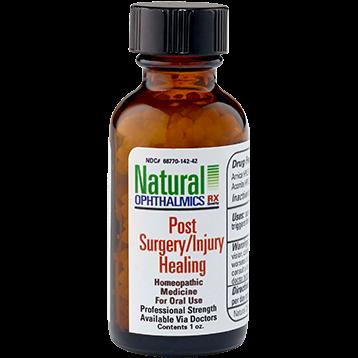 Natural Ophthalmics Inc Post Surgery Injury Healing Pellets 1 oz N14242