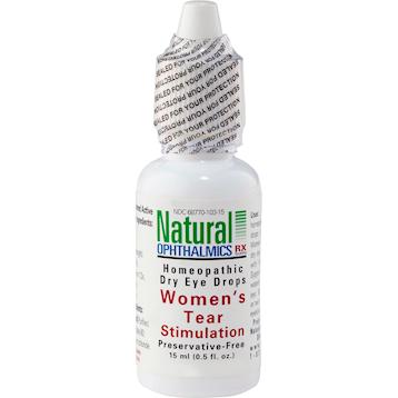 Natural Ophthalmics Inc Womens Tear Stimulation Eye Drops .5 oz N10115