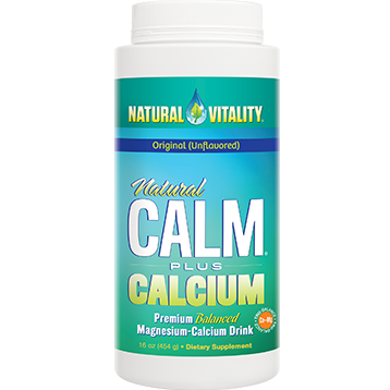 Natural Vitality Natural Calm Calcium unflavored 16oz NV0988