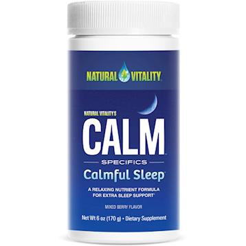 Natural Vitality Natural Calm Calmful Sleep Mixed Berry N02260