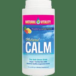 Natural Vitality Natural Calm Raspberry Lemon 16oz NV0117