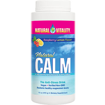 Natural Vitality Natural Calm Raspberry Lemon 16oz NV0117
