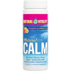 Natural Vitality Natural Calm Raspberry Lemon 8 oz NV0100