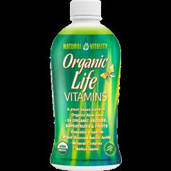 Natural Vitality Organic Life Vitamins 30oz NV0469