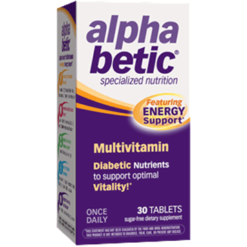NatureWorks Alpha Betic Multi Vitamin 30 tabs ALBET