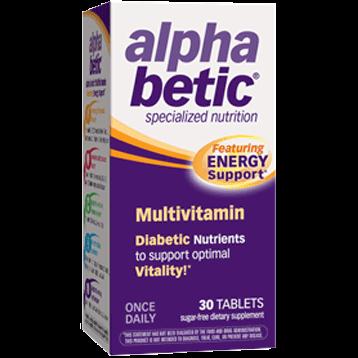 NatureWorks Alpha Betic Multi Vitamin 30 tabs ALBET