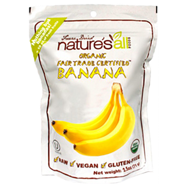 Natures All Freeze Dried Banana 2.5 oz HB1085