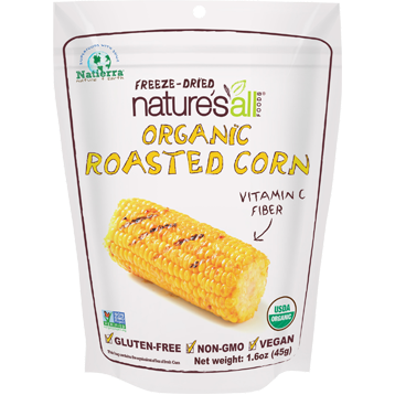 Natures All Freeze Dried Roasted Organic Corn 1.6 oz NT4512