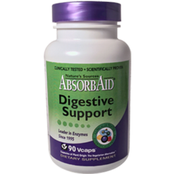 Natures Sources AbsorbAid Digestive Support 90 vcaps ABS90