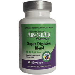 Natures Sources AbsorbAid Platinum 60 vegetarian capsules N84076