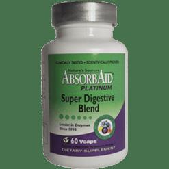 Natures Sources AbsorbAid Platinum 60 vegetarian capsules N84076