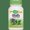 Natures Way Alfalfa Leaves 405 mg 100 caps ALFA9