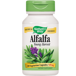 Natures Way Alfalfa Leaves 405 mg 100 caps ALFA9