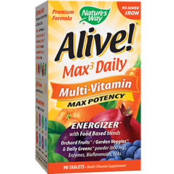 Natures Way Alive® Multi Vitamin no iron 90 tabs ALIV2