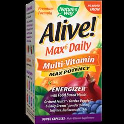 Natures Way Alive® Multi Vitamin no iron 90 vcaps ALIV6
