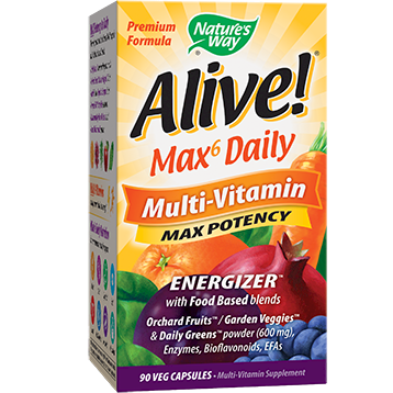 Natures Way Alive® Multi Vitaminwith iron 90vcaps ALIV5