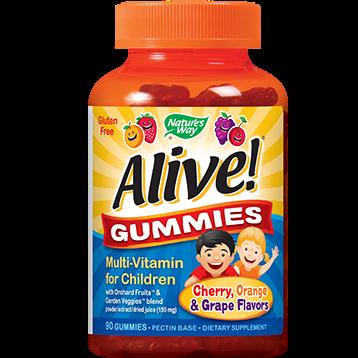 Natures Way Alive Multi Vit Gummies 90 chews N57893