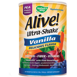 Natures Way Alivereg Ultra Shake Vanilla 33 oz ALI23