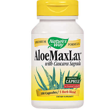 Natures Way Aloe Max Lax 100 caps ALO13