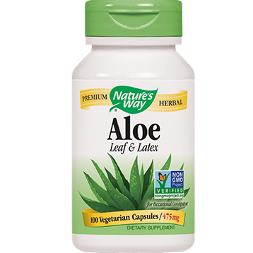 Natures Way Aloe Vera 100 caps ALO14