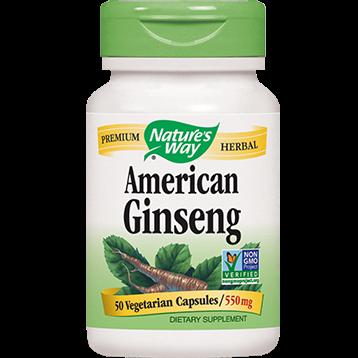 Natures Way American Ginseng 50 caps GIN29