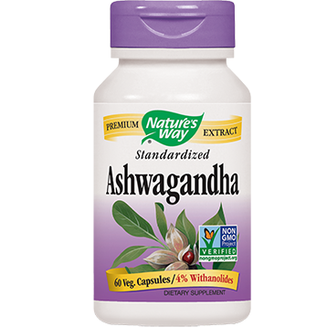 Natures Way Ashwagandha 60 vegcaps ASH18