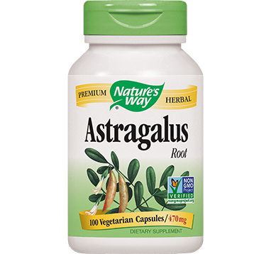 Natures Way Astragalus 470 mg 100 caps AST44