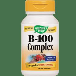 Natures Way B 100 Complex 60 capsules B100