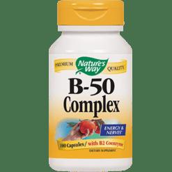 Natures Way B 50 Complex 100 caps B50C2